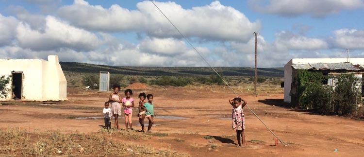 Children in the Klein Karoo