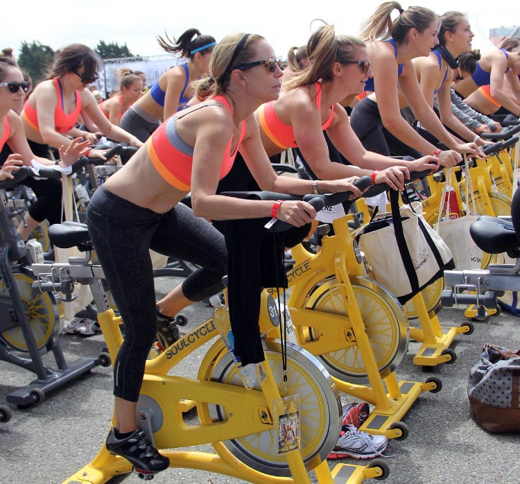 7 steps to lose weight by cycling. Sometimes, the right bike for you might be the one you reserve in spin class!