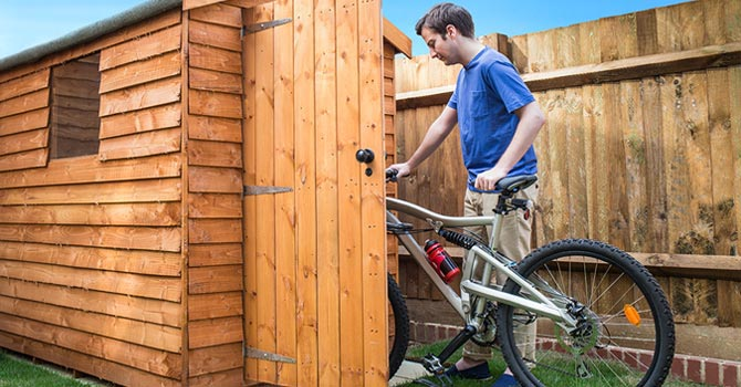 How to Protect Your Bike from Being Stolen. Most insurance companies will only accept a claim if you've taken the necessary precautions to keep your bike secure
