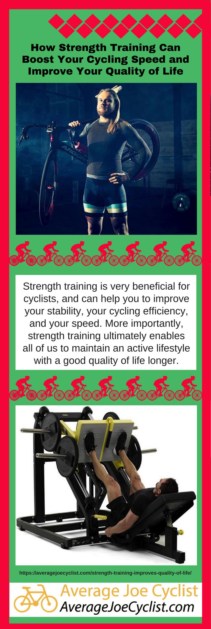 How Strength Training Can Boost Your Cycling Speed and Quality of Life