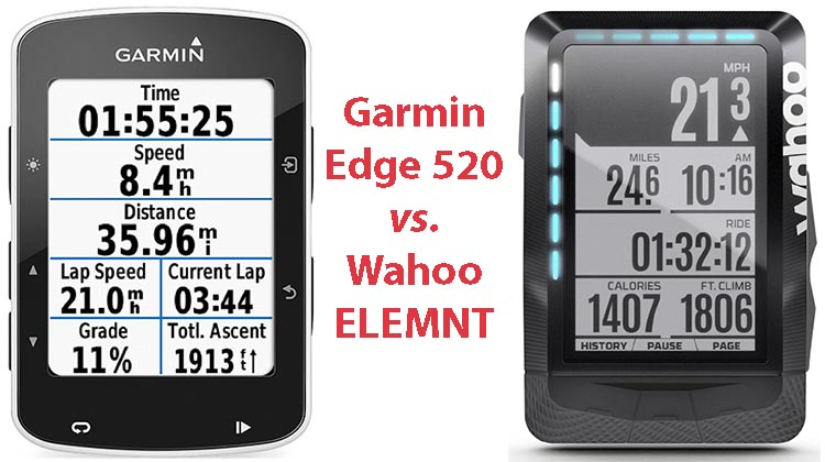 Garmin Edge 520 vs Wahoo Elemnt. Both the Wahoo ELEMNT and the Garmin Edge 520 are premium bike puters that offer an impressive range of features. So, which one is better for you?