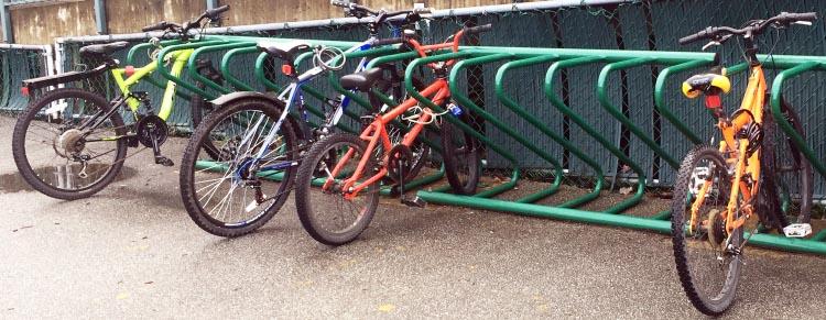 Register for Bike to School Week BC so we can start filling up these school bike racks!