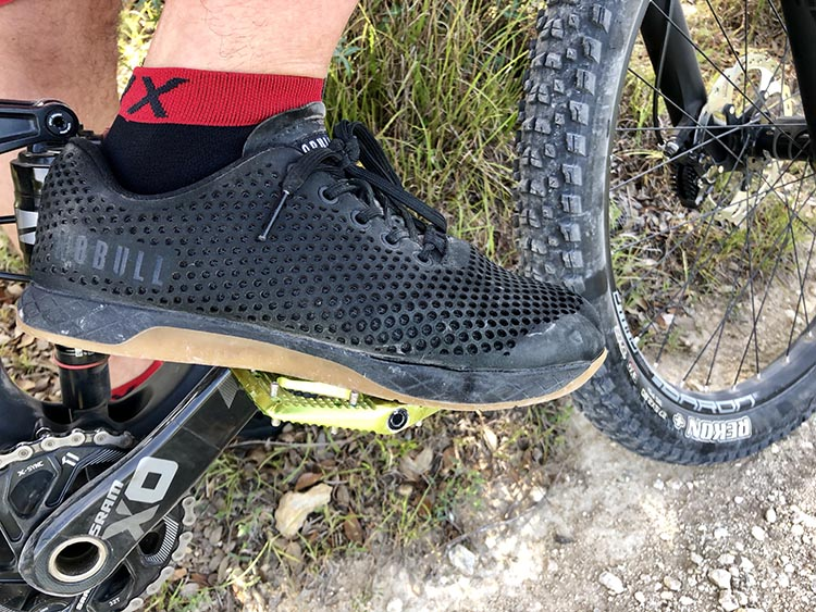 NOBULL Trainers Review – The Best Mountain Biking Shoe You Are Not Using? No frills, NOBULL trainers simply work and take punishment with a smile