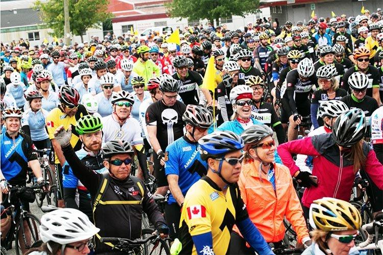 The 10th Annual Ride to Conquer Cancer Presented by Wheaton Precious Metals.