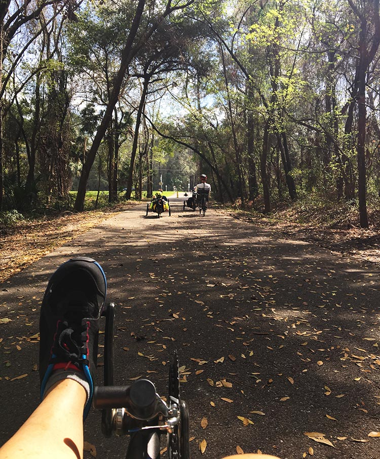 7 Benefits of Recumbent Trikes. The view from my recumbent trike