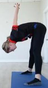 Standing Straddle Stretch