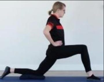 10 Best Stretches for Cyclists. Knight's Pose