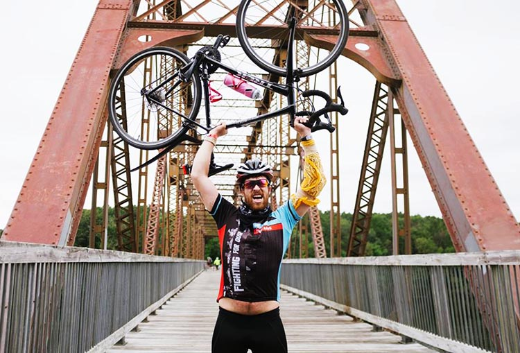 Cycle for the Cause is full of high points! Photograph by Inspired Storytellers. Cycle for the Cause 2018 and 2019