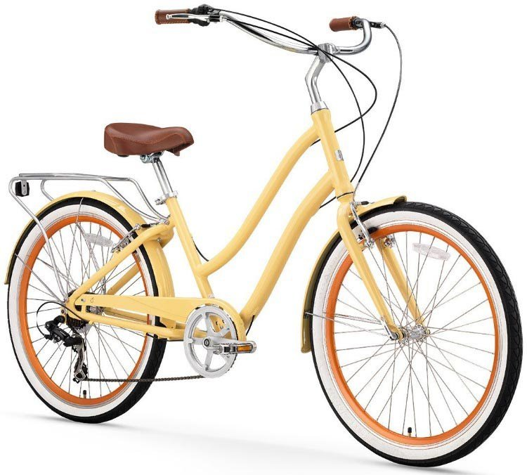The sixthreezero EVRYJourney hybrid bikes are recommended for versatility and shock-absorption