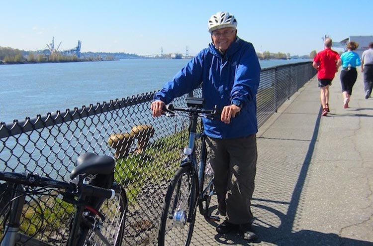 Ebikes make cycling possible for seniors and many other people, including those dealing with challenging commutes