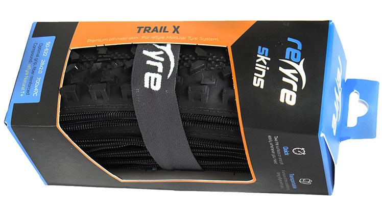 Introducing reTyre – Skins for Bike Tires! Enter to win a set. Trail King skins are designed for high performance on trails and downhill