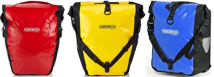 Best Waterproof Bike Panniers for Touring and muting - Ortlieb Bike Panniers