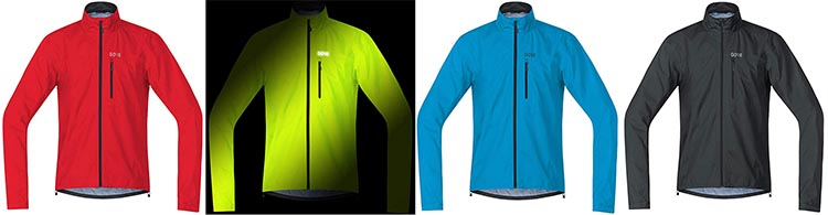 The Gore C3 GTX Active Jacket 4 is available in 4 different colors