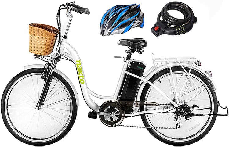 Best cheap ebikes. The Nakto ebike is stylish, and easy to mount as well