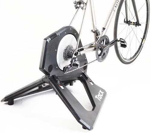 What is a Smart Turbo Indoor Trainer? The Tacx Neo Smart is an example of a direct drive trainer. It is expensive, but it is an excellent training machine