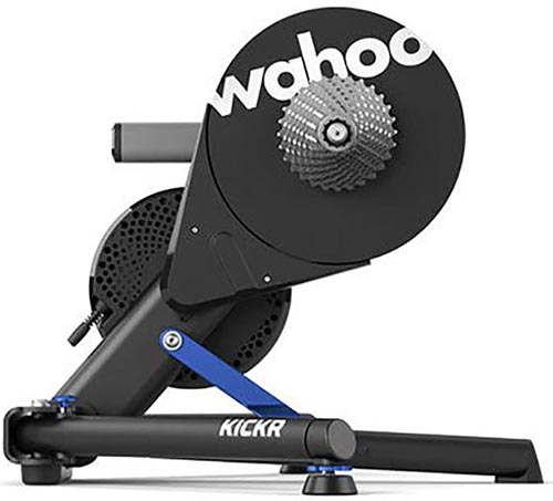 The Wahoo Kickr is the most popular smart trainer on the market