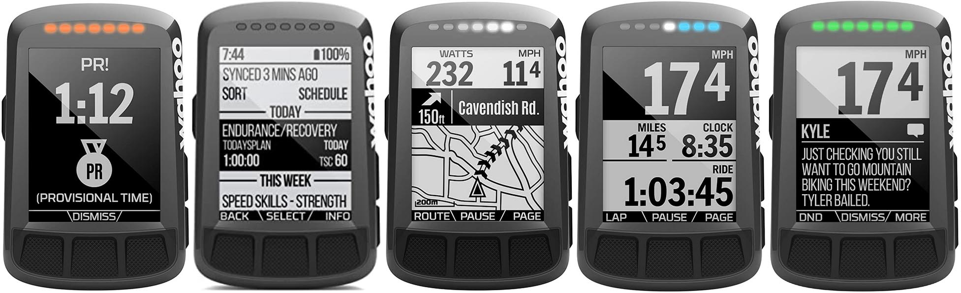 Garmin Edge 530 vs Wahoo ELEMNT Bolt. The Wahoo ELMENT Bolt offers pretty much everything a cyclist could want, at a lower price point