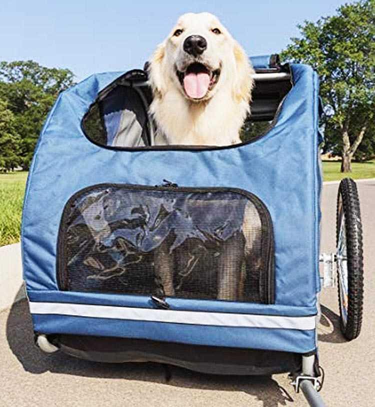 No. 6: PetSafe Happy Ride Steel Dog Trailer