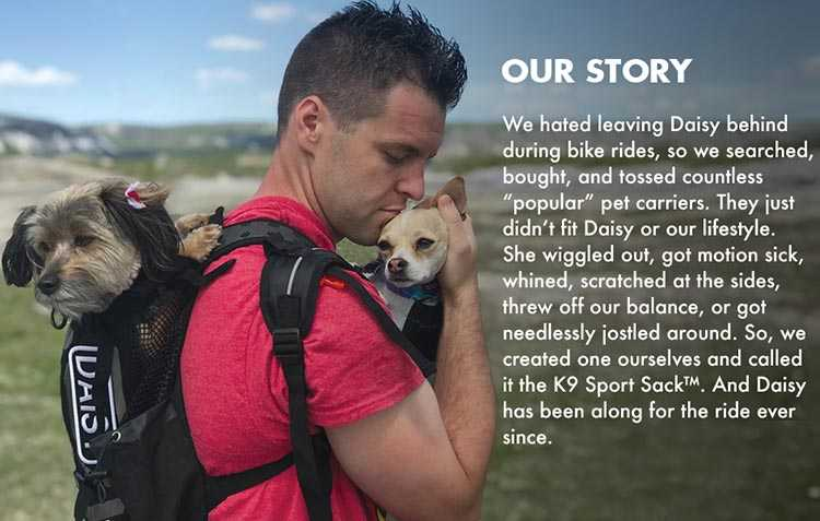 No. 2: The K9 Sport Sack - ideal for anxious dogs