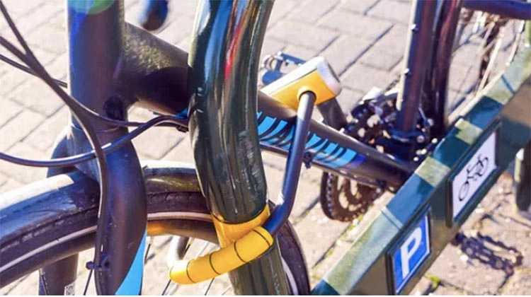 Always lock your bike to a solid, immovable object that has a closed loop so the bike can't be lifted over the top (e.g. iron railings)