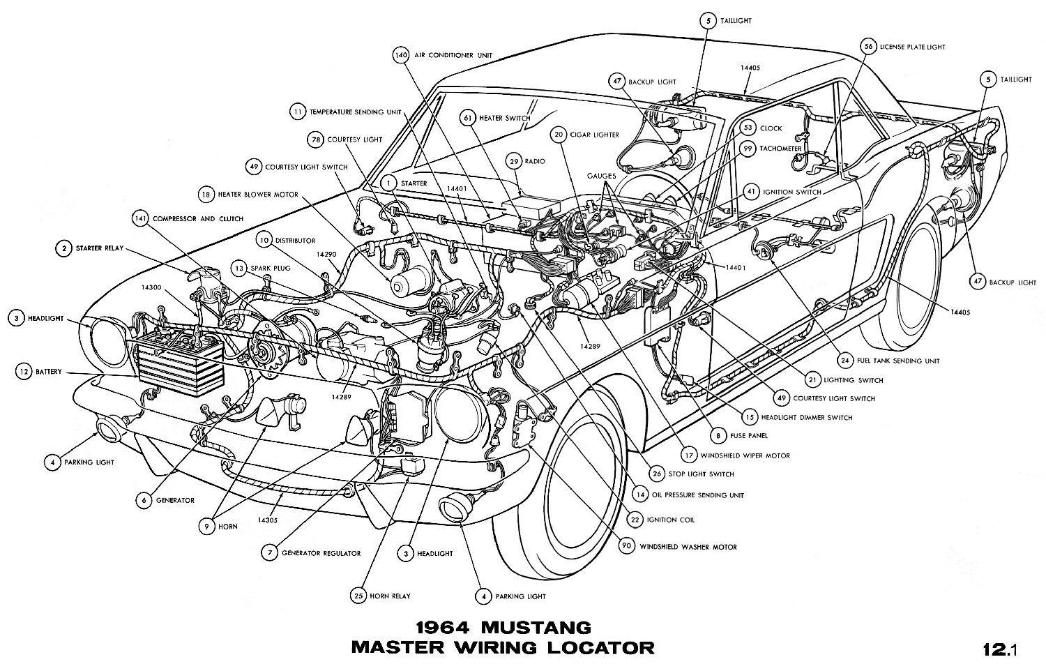 74 Corvette Wiring Schematic