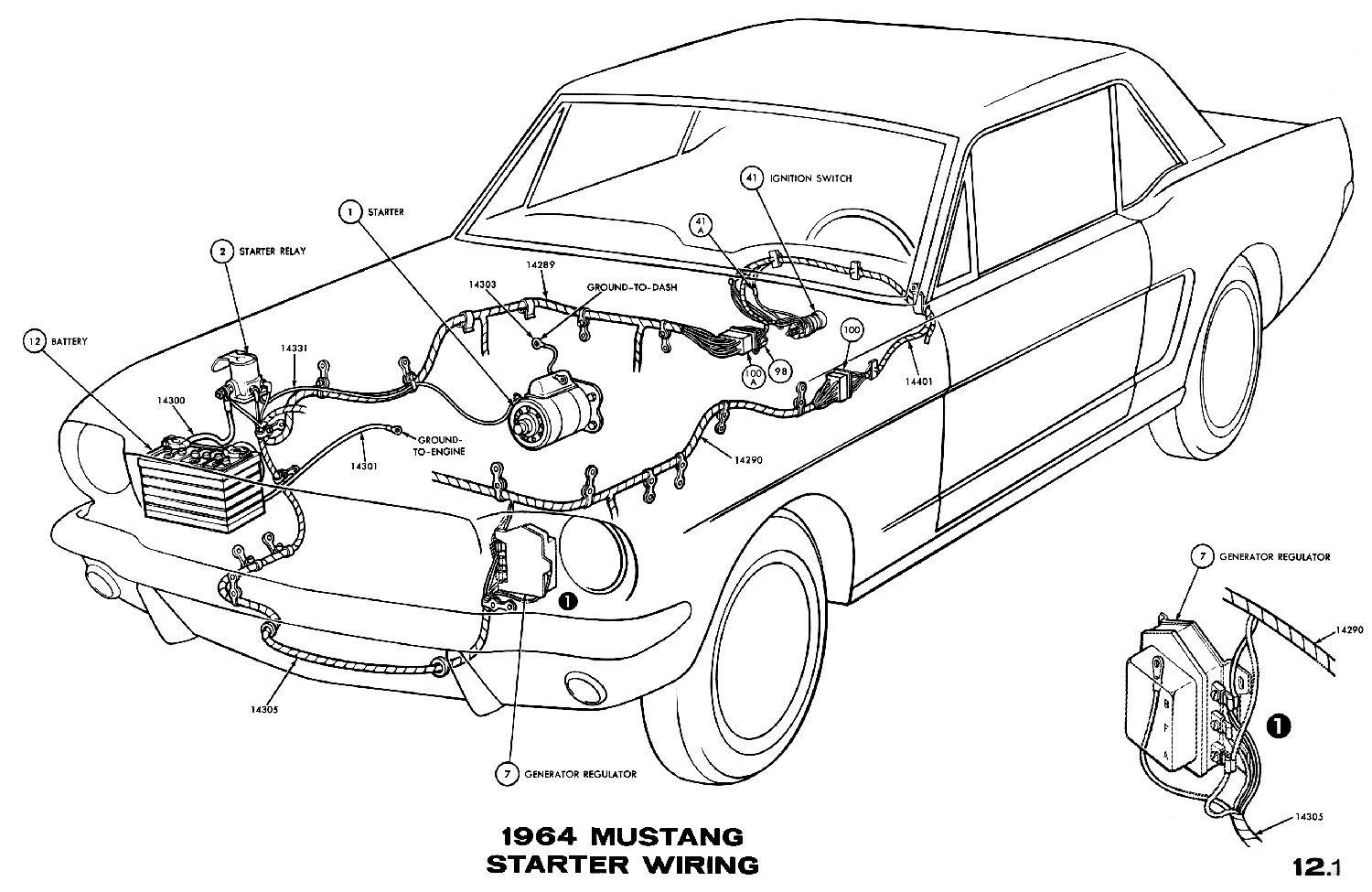 Cougar Headlight Wire Diagram
