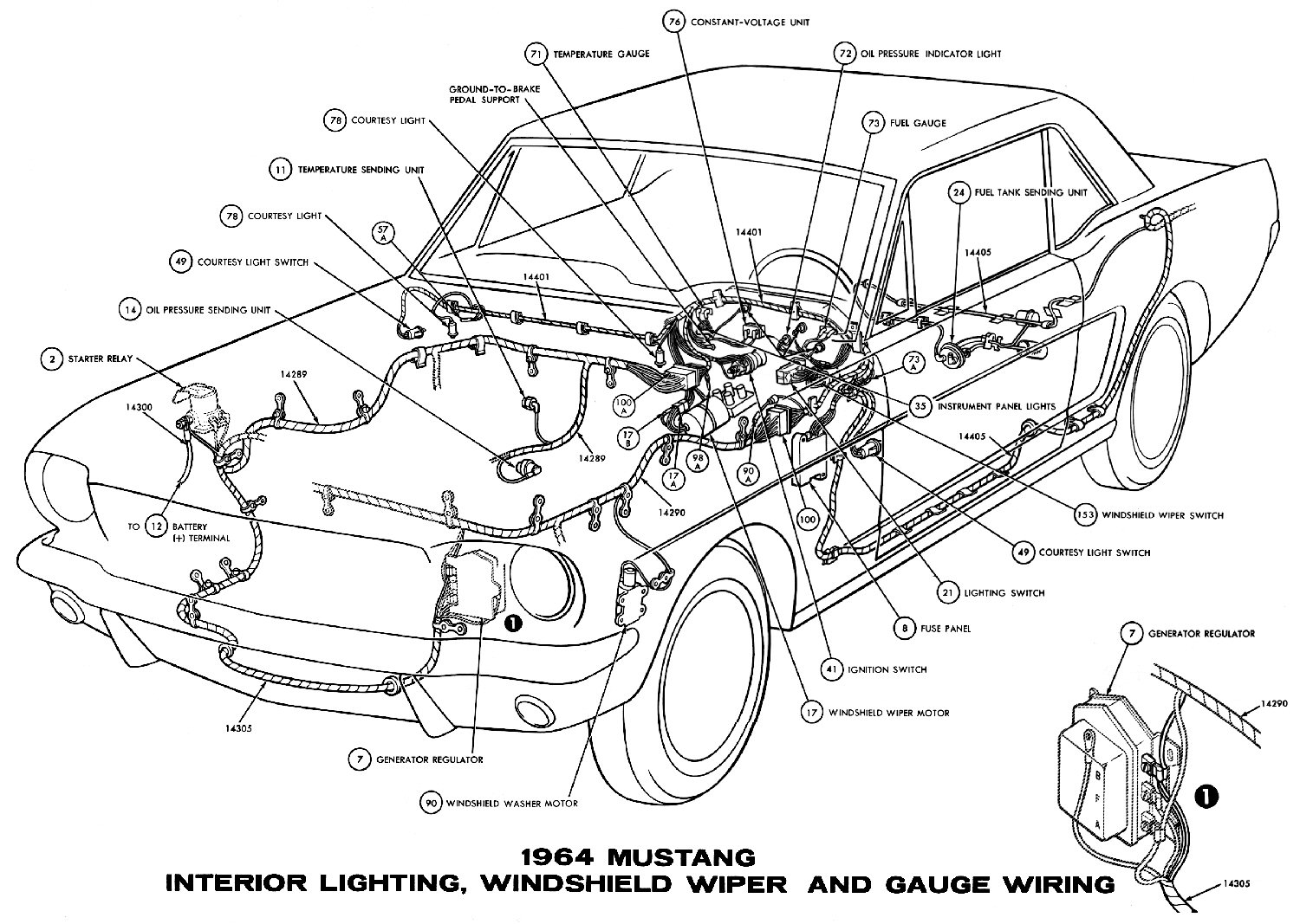 Mustang Engine Wiring