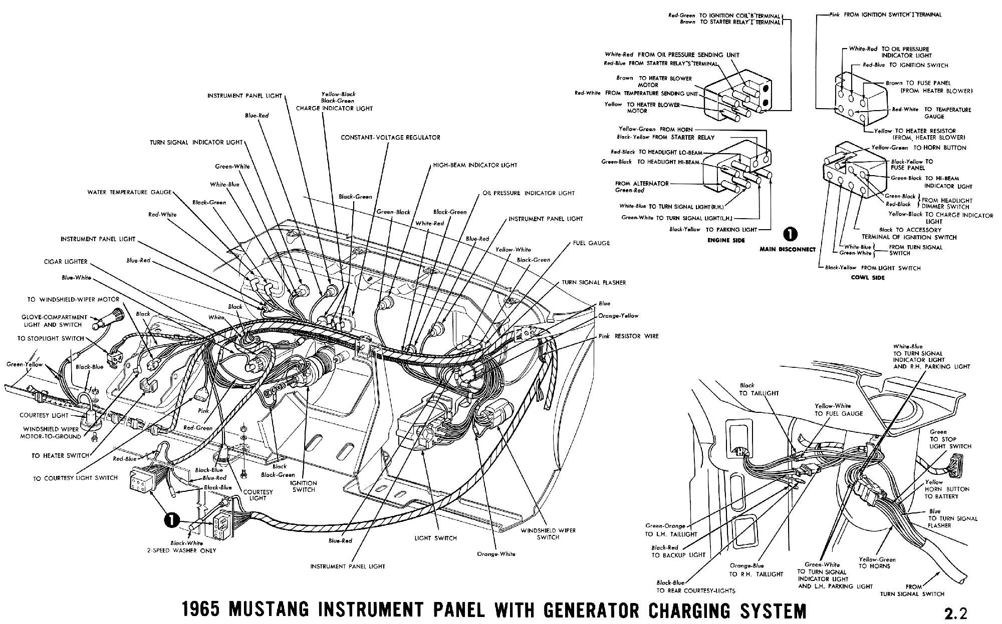 Mustang Alternator Wiring Diagram 11 Ford F100 Wiring