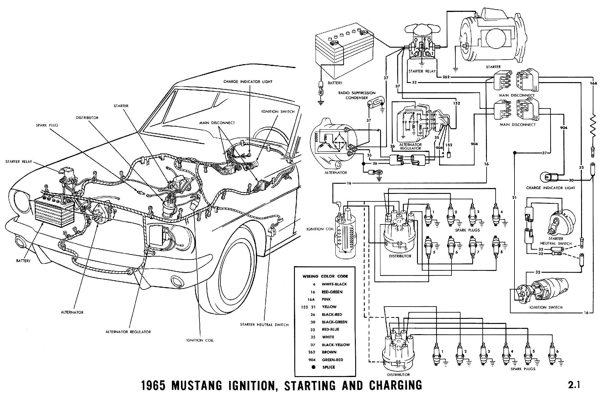 1965 Mustang Alt Warning Light Stays On Page1