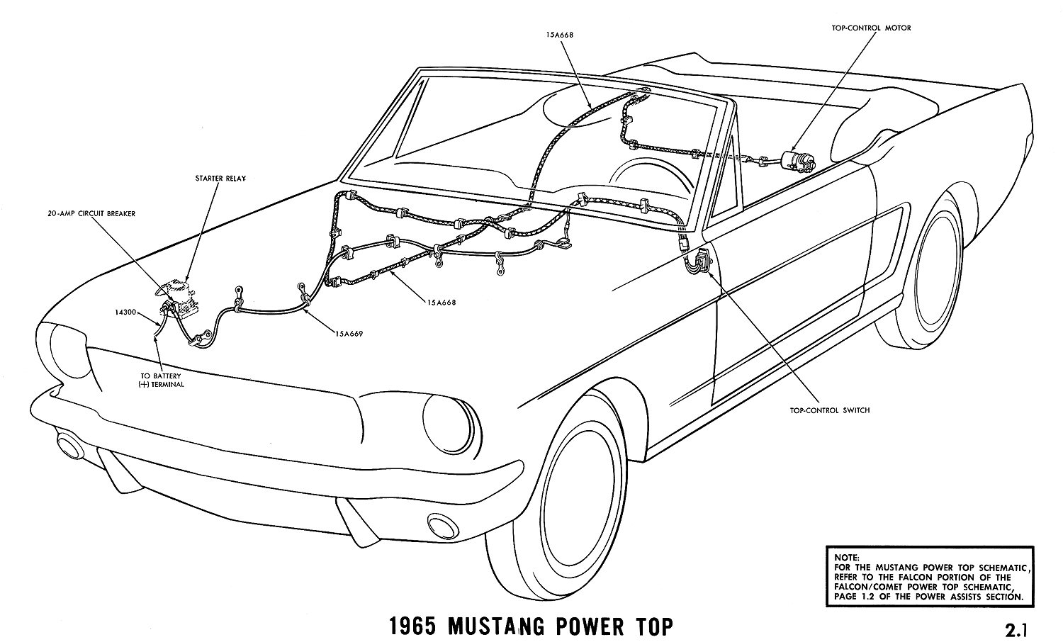 5 Mustang Wiring Diagram Dash