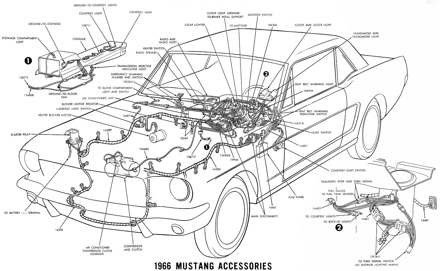 1966 mustang wiring diagram blower motor