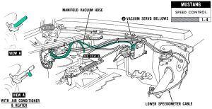 1965 Mustang Steering Column Diagram | Car Interior Design
