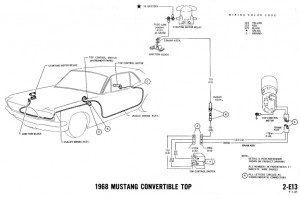 1968 Mustang Wiring Diagrams and Vacuum Schematics  Average Joe Restoration