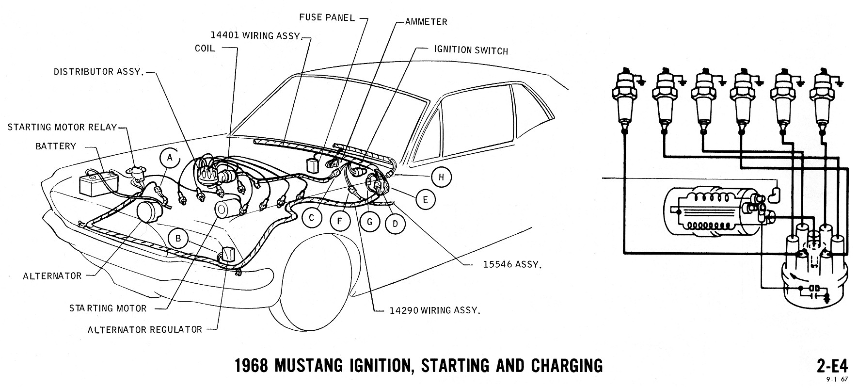 68 Mustang Wiring Diagram