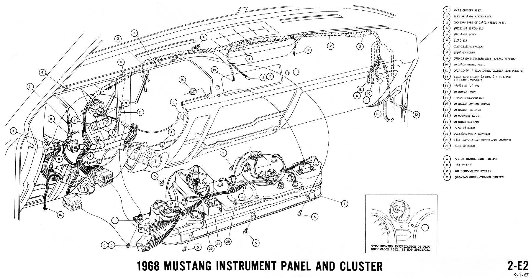 1967 Cougar Wiring Diagrams | Repair Manual on