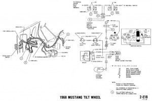 1968 Mustang Wiring Diagrams and Vacuum Schematics