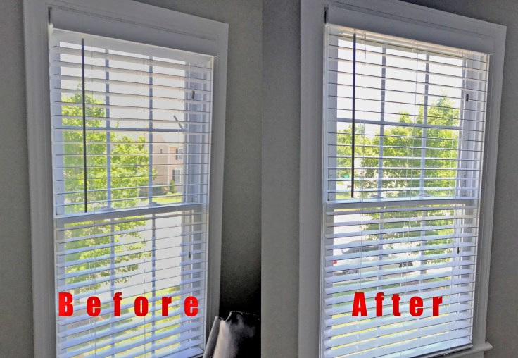 Before and After My Smart Blinds