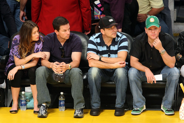 Matt+Damon+Rhea+Durham+Celebrities+NBA+Finals+EOGaWAgoQ1Vl