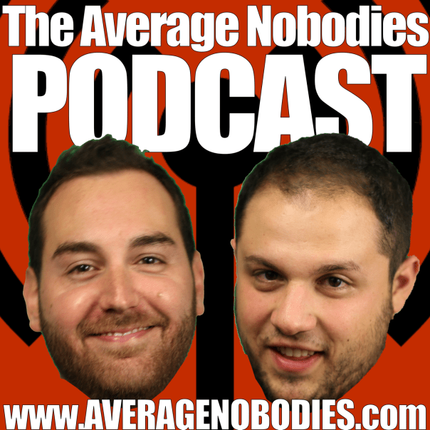 Average Nobodies Podcast Logo