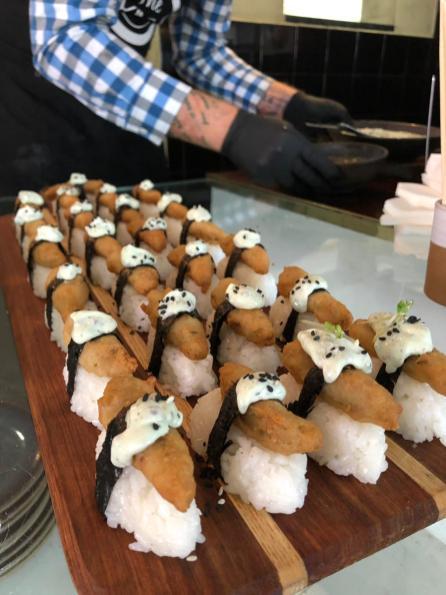 Prawn Nigiri_Frys Fish Style Fillets Launch Cape Town_5