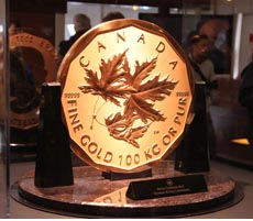 Million Dollar Coin Vancouver 2010