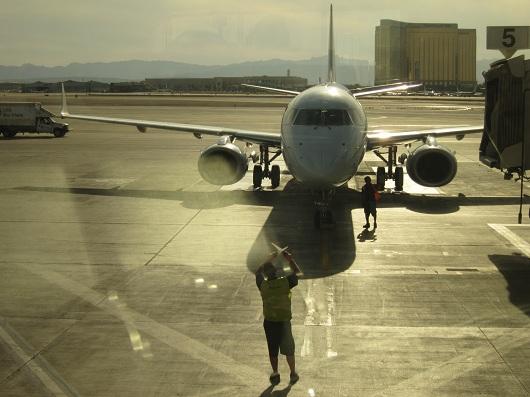 Air Canada Flight McCarran Airport Las Vegas