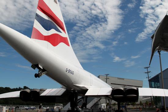 G-BOAG British Airways Concorde at Museum of Flight