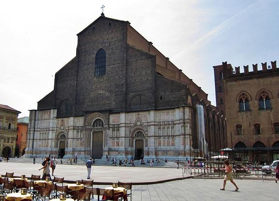 San Petronio Basilica in Bologna Italy