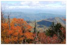 Orange & Blue From Clingman's Dome