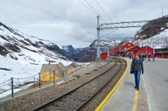 Heidi at Myrdal Station