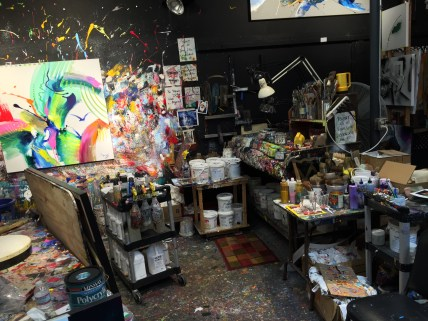 The Jonas Gerard Studio in Asheville