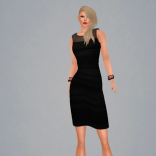 Allure black dress