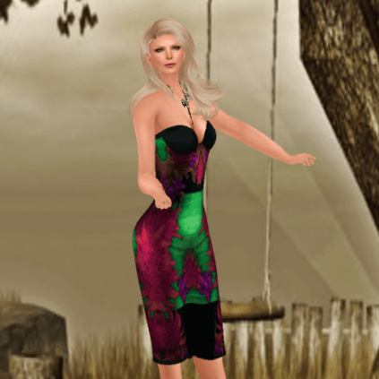 Lavian all Signs of Life with Virtual Diva Pinup hair