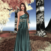 Artemis in Turquoise